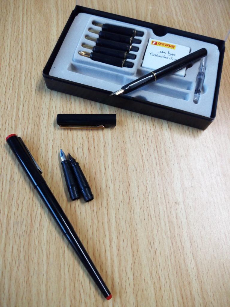 Coffrets stylos-plumes