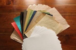 papiers calligraphie arabe