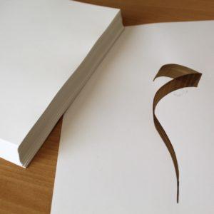 papier calligraphie arabe