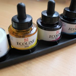 encre aquarelle liquide ecoline