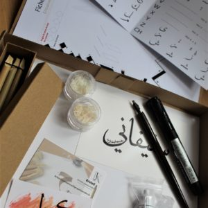Box calligraphie rentrée