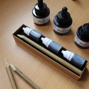 kit calame encre couleurs